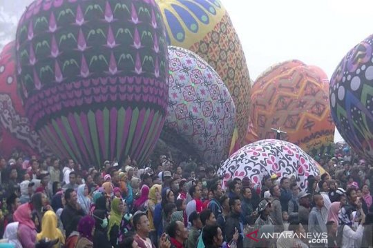 "Tarik wisatawan, ""Java Traditional Balloon Festival"" digelar Wonosobo"