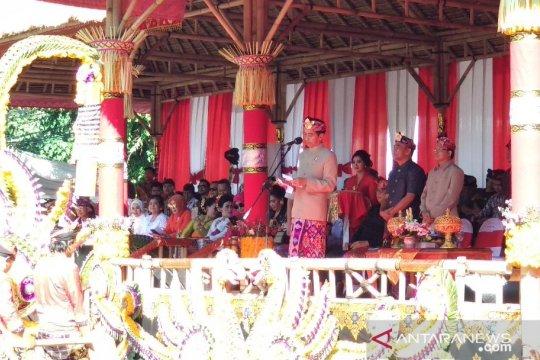 Gubernur Koster: tebarkan spirit toleransi lewat Pesta Kesenian