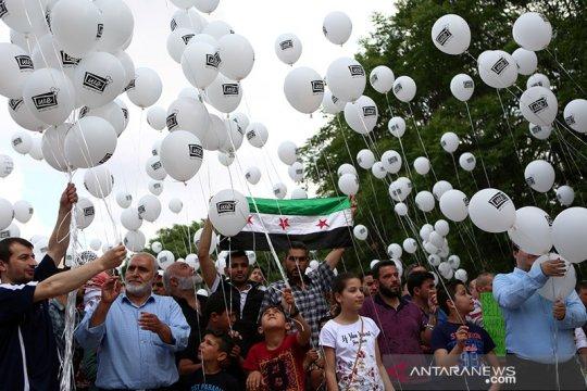 Serangan udara di Idlib Suriah tewaskan 18 orang