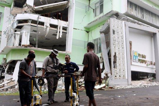 Badan Geologi belum rekomendasikan kajian longsor di IAIN Ambon