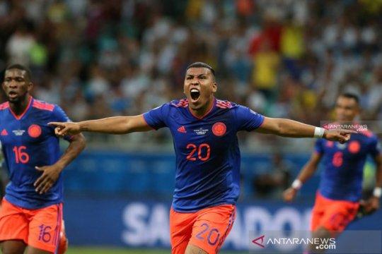 Kolombia permalukan Argentina dengan kemenangan dua gol tanpa balas