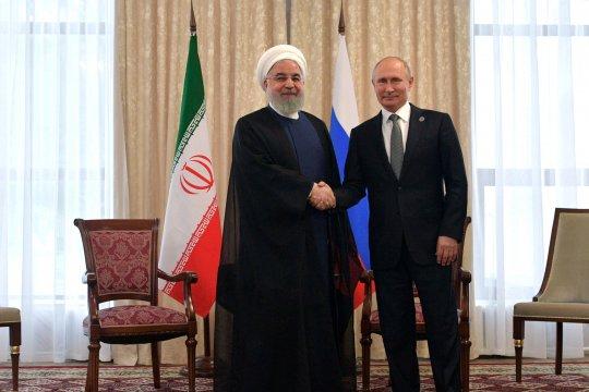 China sambut usul Putin untuk adakan KTT soal Iran