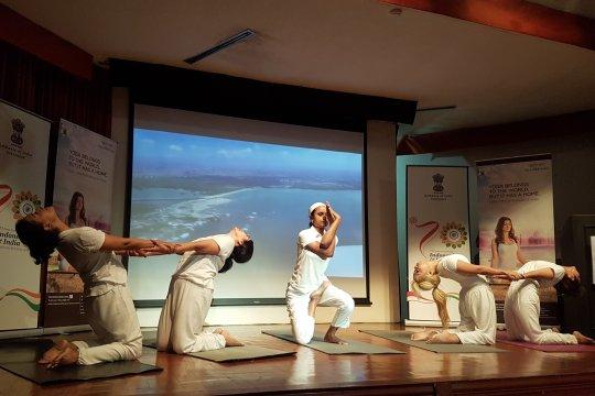 Dubes India: yoga tunjukkan hubungan dekat manusia dengan alam