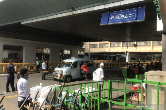 Aktivitas Pasar Tanah Abang kembali normal usai libur Lebaran