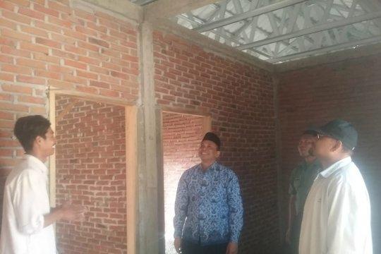 Rumah Tahan Gempa di Gunung Sari capai 80 persen