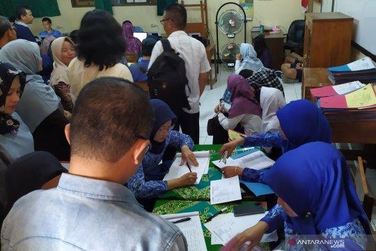 PPDB di SMAN 24 Bandung membludak