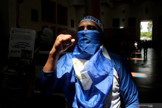 Oposisi Nikaragua bertanggung jawab atas 'aksi militer' pascaledakan