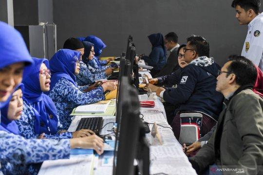 Pendaftaran siswa baru di Bandung