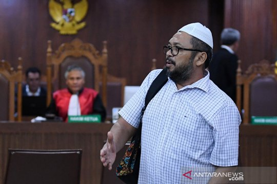 Mantan anggota DPRD Sumut Ferry Suando, divonis 4 tahun penjara