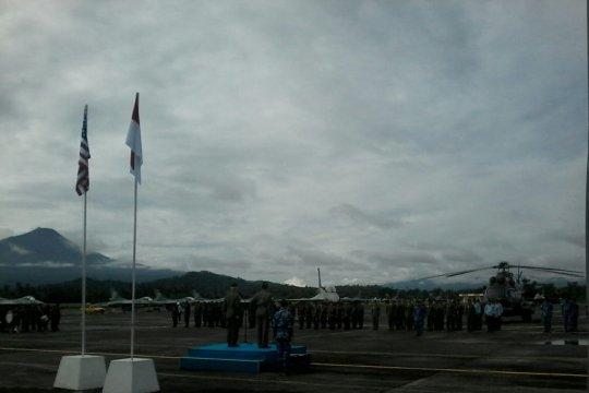 Angkatan Udara Indonesia dan Amerika Serikat latihan bersama di Manado
