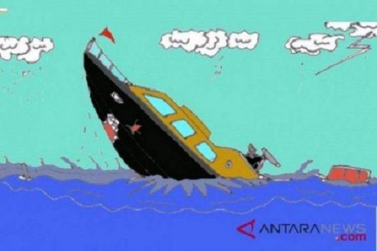 Pencarian tiga polisi patroli tenggelam di Kaltara dilanjutkan Senin