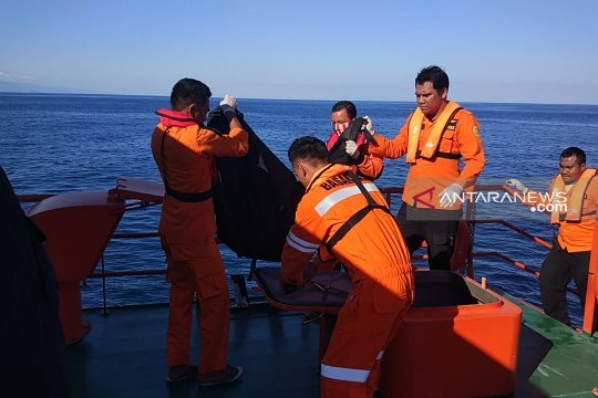 Basarnas temukan tiga korban kapal tengelam di Alor
