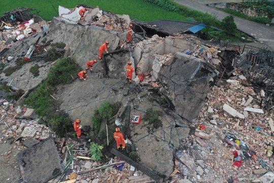 Gempa bumi 6.0 SR hantam Sichuan, China, 11 orang dilaporkan meninggal dunia
