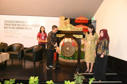 Pemkot Denpasar dan Bekraf fasilitasi HaKI pelaku ekonomi kreatif