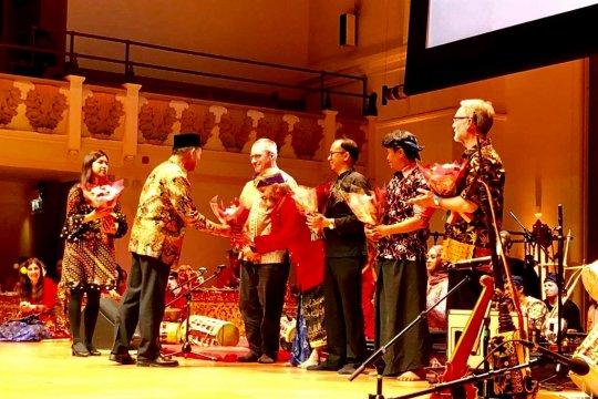 Gamelan meriahkan Peringatan 70 Tahun Indonesia-Inggris di London