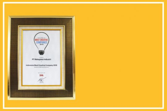 SWA anugerahi Rekind Indonesia Most Creative Company 2019