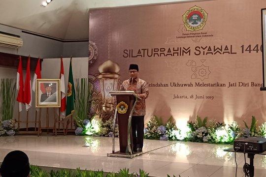 MPR ajak tiga unsur kekuatan Indonesia perkuat ukhuwah