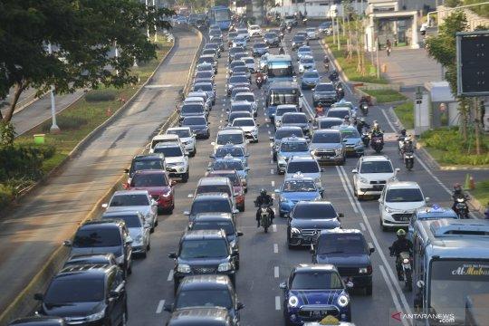 Polisi sebut aktivitas perkantoran picu kepadatan lalu lintas Ibu Kota