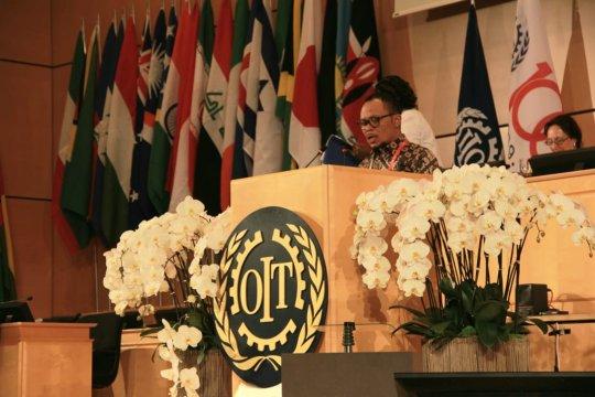 Menaker promosi tiga pilar pembangunan SDM di konferensi internasional