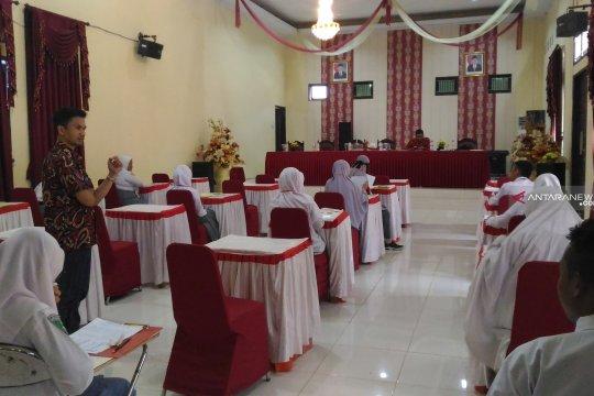 Puluhan siswa Gorontalo Utara ikut seleksi program beasiswa ADik