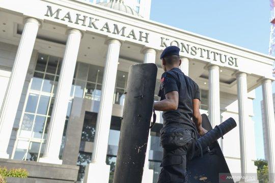 Pengamanan sidang lanjutan sengketa hasil Pilpres di Mahkamah Konstitusi