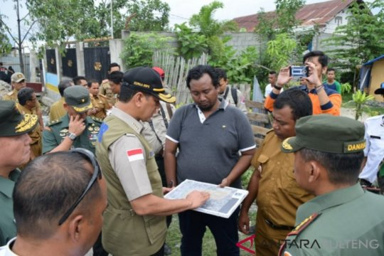 Baru 1.059 korban bencana Palu bersedia direlokasi