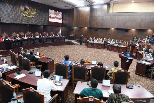 Sidang MK, DPT yang dipermasalahkan Prabowo-Sandi sudah diselesaikan