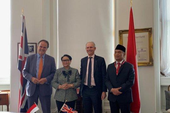 Indonesia-Inggris tegaskan komitmen kemitraan strategis