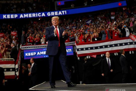 Presiden Donald Trump maju kembali dalam Pilpres Amerika Serikat tahun 2020