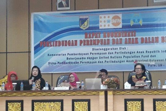 Kemen-PPPA : Tak mudah perempuan lapor kekerasan dalam situasi bencana