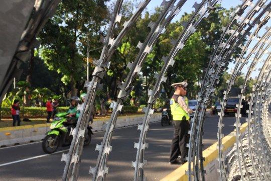 Jalan Merdeka Barat kembali dibuka untuk umum