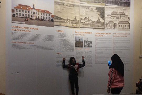 Museum Sejarah Jakarta jadi tujuan wisata swafoto