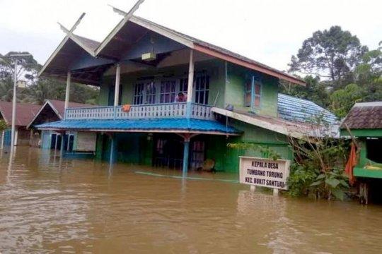 Banjir rendam 332 rumah warga di Bukit Santuai, Kalteng