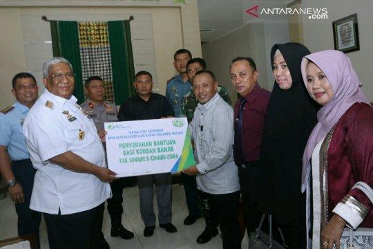 BPJS-TK bantu Rp131,4 juta kepada korban bencana di Sultra