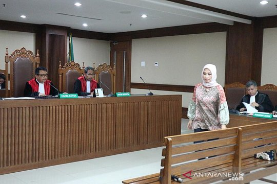 Pengusaha didakwa suap anggota DPR Bowo Sidik sekitar Rp2,5 miliar