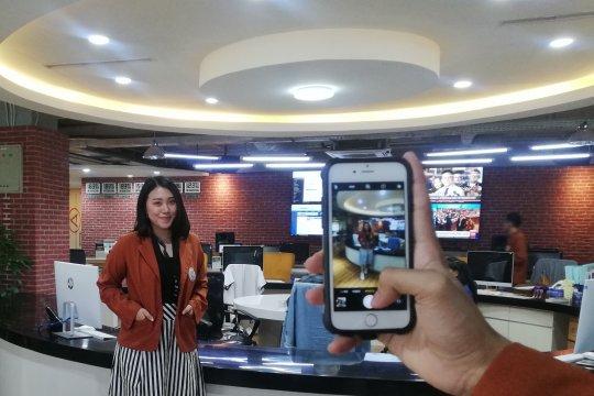 """Kunjungi ANTARA, mahasiswa berebut spot foto """"instagrammable"""""""