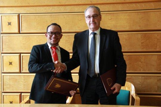 Indonesia - Swiss tanda tangani MoU bidang ketenagakerjaan