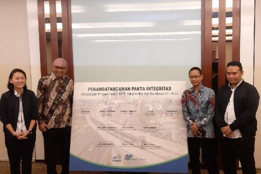 Fase 2 MRT Jakarta ditargetkan rampung pada 2024