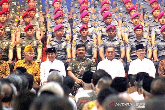 Menhan Ryamizard prihatin prajurit TNI terpapar radikalisme
