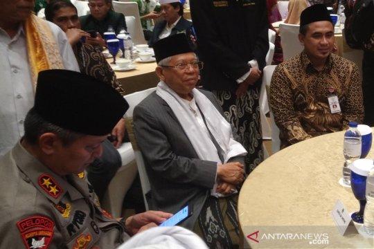 Ma'ruf Amin hadiri pertemuan kebangsaan dan halalbihalal PWNU Jateng