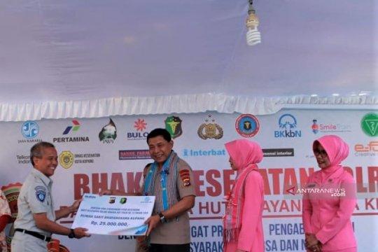 Jasa Raharja NTT salurkan bantuan bagi rumah sakit Polri