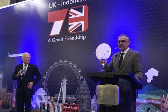 Perayaan HUT Ratu Inggris di Jakarta jadi momen perpisahan Dubes Malik