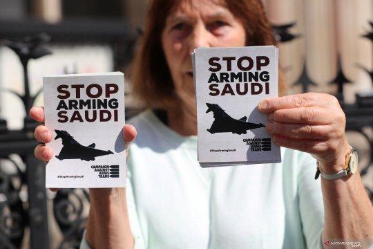 Pemerintah Inggris diputuskan bersalah atas ekspor senjata ke Saudi