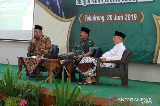 Panglima TNI paparkan penanganan kerusuhan 21-22 Mei di hadapan ulama