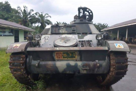 Padang terima hibah tank bersejarah Operasi Trikora