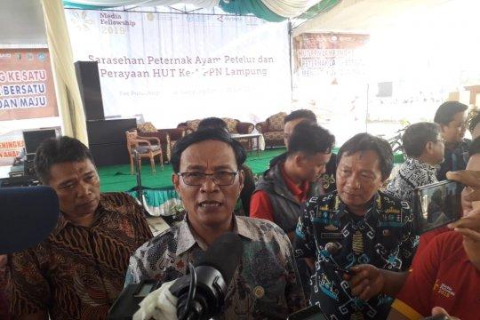 Dirjen Peternakan beri sertifikat NKV enam peternak ayam Lampung