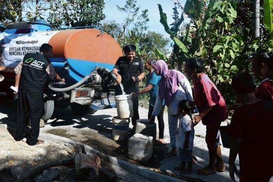 ACT siapkan jutaan liiter air tanggulangi kekeringan Gunungkidul