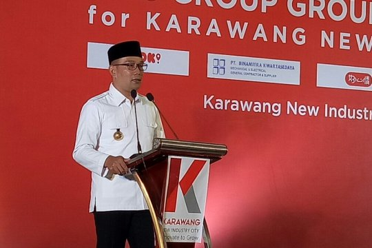 Ridwan Kamil minta investor asing gunakan pekerja lokal