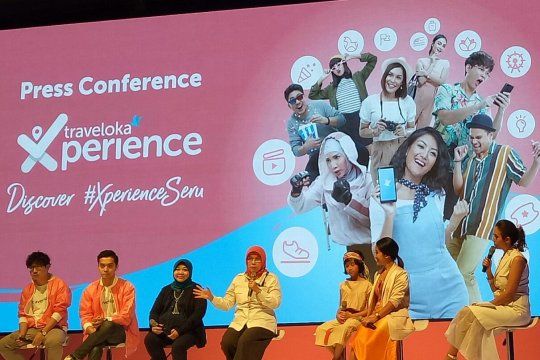 Traveloka dan Kemenpar targetkan 20 juta wisatawan di Indonesia