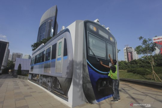 MRT Jakarta mendukung penuh program HUT Jakarta